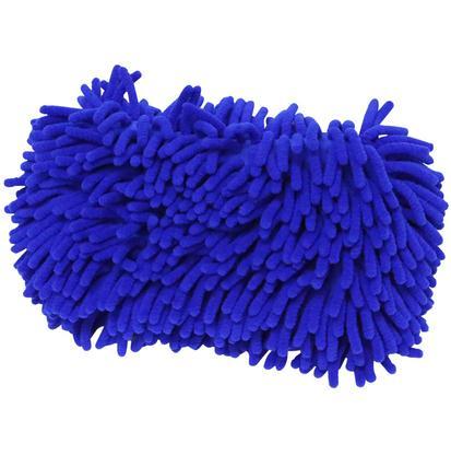 Microfiber Sponge w/ Mesh BLUE