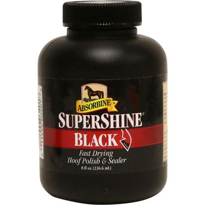 Absorbine Supershine Hoof Polish & Sealer BLACK