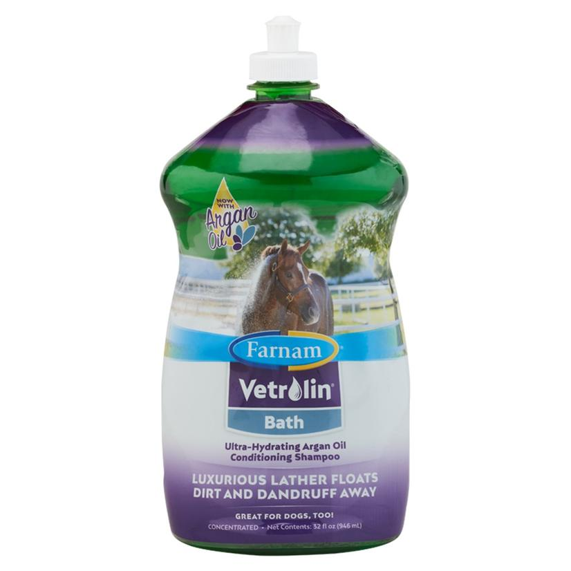 Vetrolin Bath Conditioning Shampoo - 32 Oz