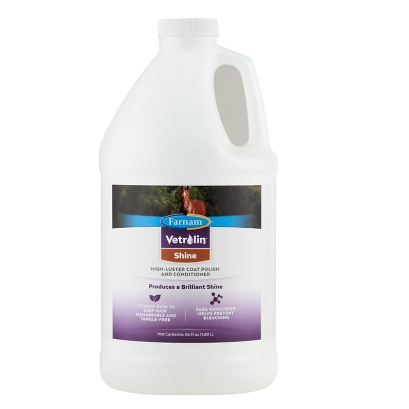 Vetrolin Shine Coat Polish/Conditioner - Gallon