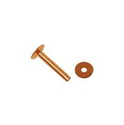 Solid Copper Rivets 1 Pound Box