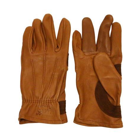 Premium Deerskin Glove With Elastic Cuff