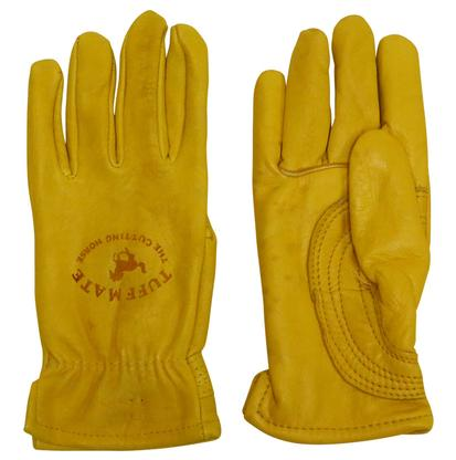 Tuff Mate The Cutting Horse Lined Leather Gloves CUTTINGHORSE