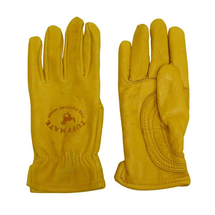 Tuff Mate The Cutting Horse Lined Leather Gloves