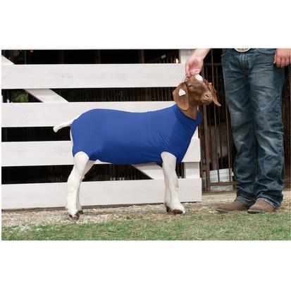 Spandex Goat Tube BLUE