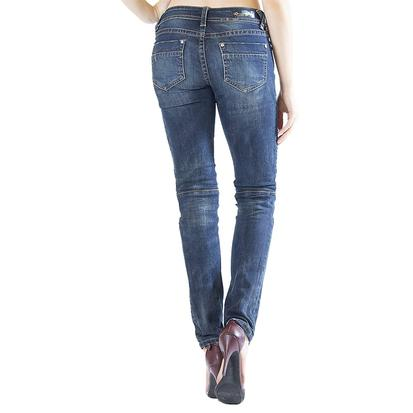 Grace In LA Womens Moto Skinny Jeans