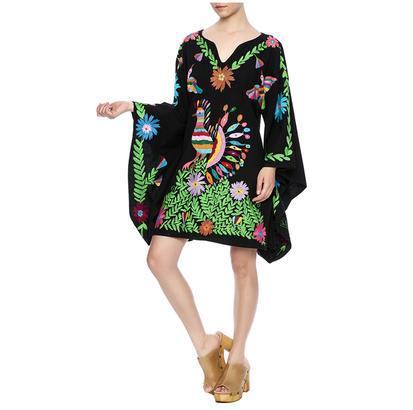 Vestido de Pavo Real Nativa Peacock Dress
