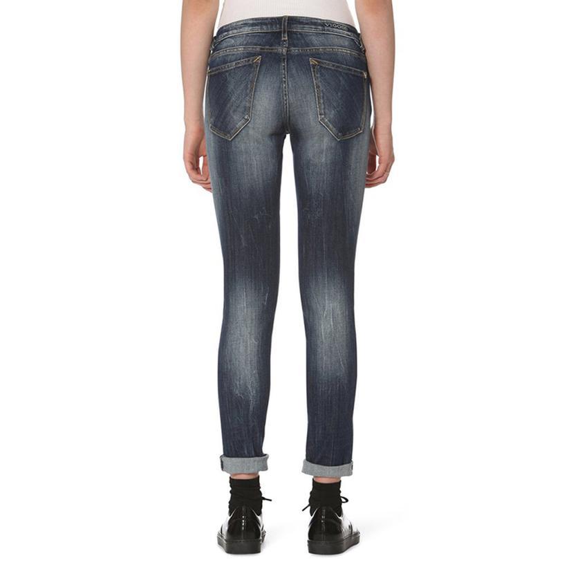 Vigoss Womens Thompson Plaid Jean