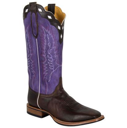 Cinch Dark Brown Purple Mens Boots
