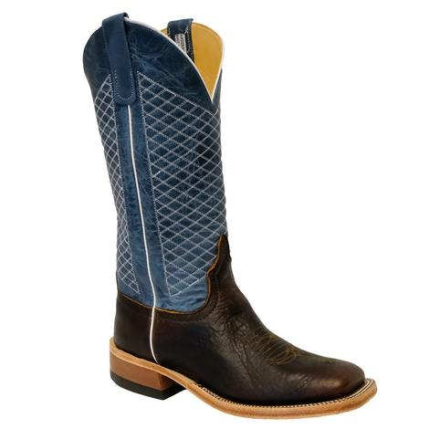 Anderson Bean Mens Blue Lava Mike Tyson Boots