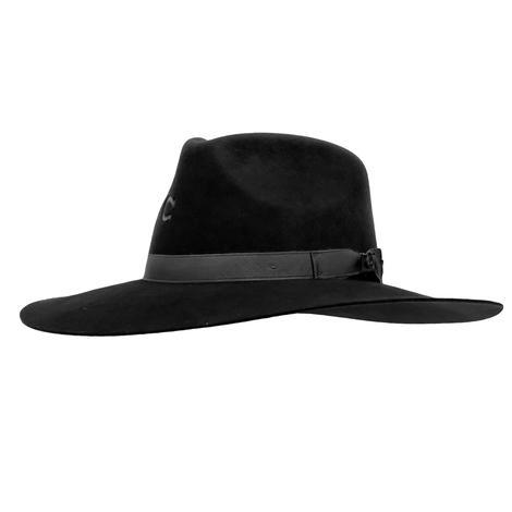 Charlie 1 Horse Highway Cowboy Hat BLACK