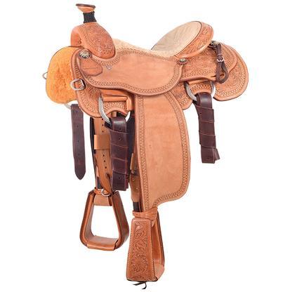 Joe Beaver Calf Roping Saddle, Martin Saddlery