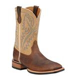 Ariat Men's Quickdraw Western Boots - Bark/Beige