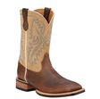 Ariat Men's Quickdraw Western Boots - Bark/Beige