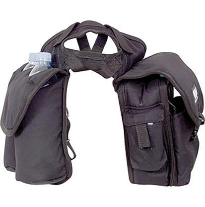 Cashel Medium Horn Saddle Bag BLACK