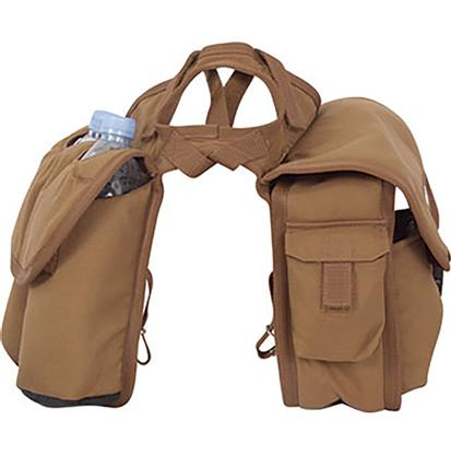 Cashel Medium Horn Saddle Bag BROWN
