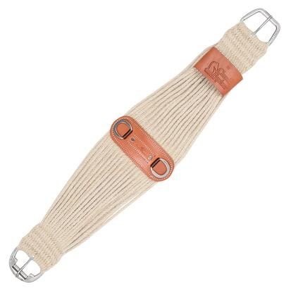 100 % Mohair Roper Cinch With Leather Center
