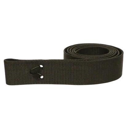 Poly Web Cinch Strap BLACK
