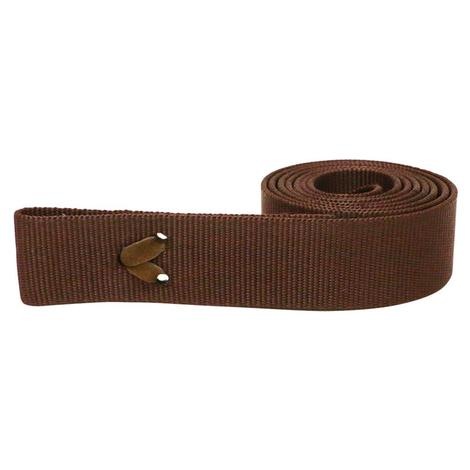 Poly Web Cinch Strap - Brown or Black