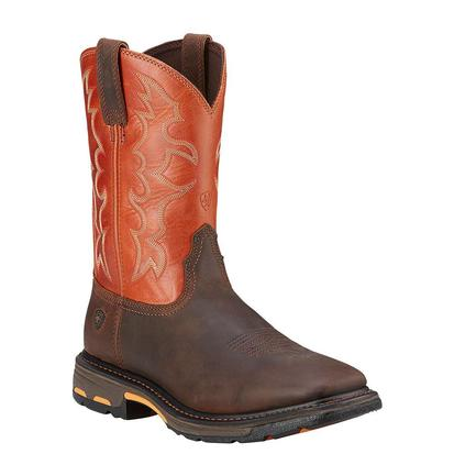 Ariat Workhog Dark Earth Mens Boots