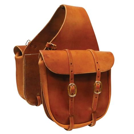 Harness Leather Saddle Bag