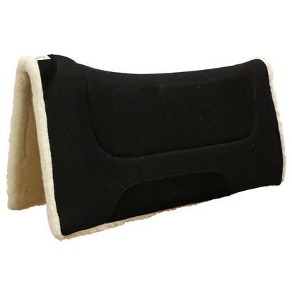 Contoured Comfort Cutter Saddle Pad BLACK