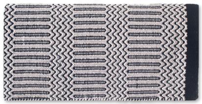 Ramrod Double Weave Saddle Blanket BK/GRY