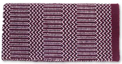 Ramrod Double Weave Saddle Blanket BU/BK/CR