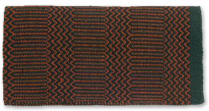 Mayatex Ramrod Double Weave Saddle Blanket HUN/RUST/BK