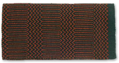 Ramrod Double Weave Saddle Blanket HUN/RUST/BK