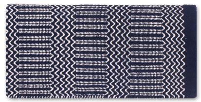 Ramrod Double Weave Saddle Blanket NV/BK/CR