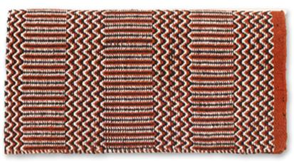Ramrod Double Weave Saddle Blanket RUST