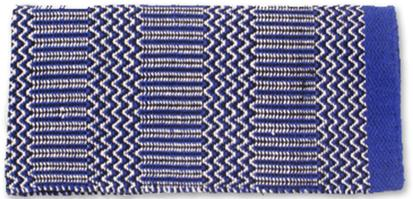 Ramrod Double Weave Saddle Blanket RY/BL/CR