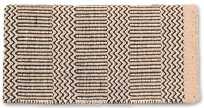 Ramrod Double Weave Saddle Blanket SND/BK/WH
