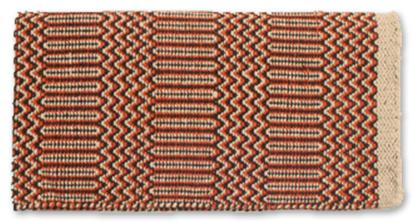 Ramrod Double Weave Saddle Blanket SND/BR/RUST