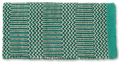 Ramrod Double Weave Saddle Blanket TE/BK/CR