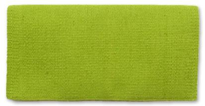 San Juan Felt Pony Pad LIME_GREEN