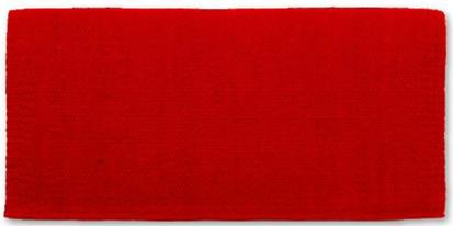 San Juan Solids Saddle Blanket RED