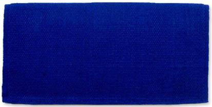 San Juan Solids Saddle Blanket ROYAL_BLUE