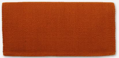 Mayatex San Juan Solids Saddle Blanket 36x34 COPPER