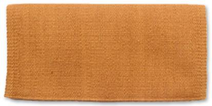 Mayatex San Juan Solids Saddle Blanket 36x34 HONEY