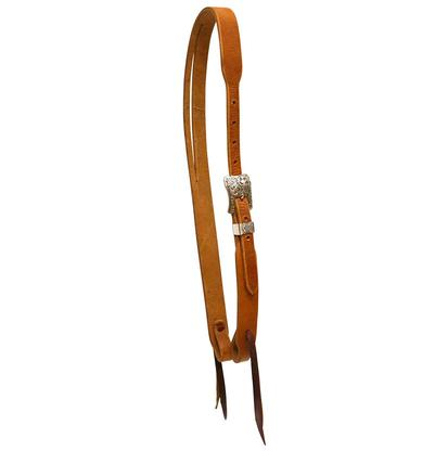 Harness Leather Slit Ear Headstall by Cactus