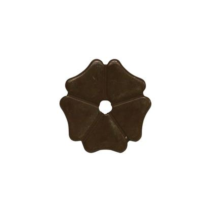 Cloverleaf Rowel 1 1/8 Inch Antique