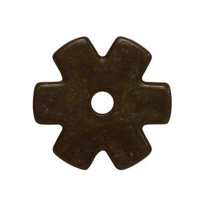 1 1/4 Inch 6- Point Spur Rowel Antique