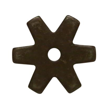 1 1/4 Inch 6- Point Rowel Antique
