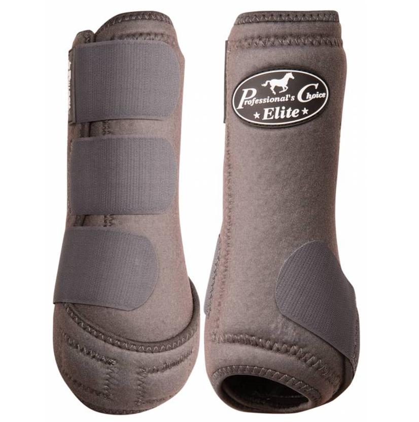 Professional Choice VenTECH Sports Medicine Boots - Front CHARCOAL