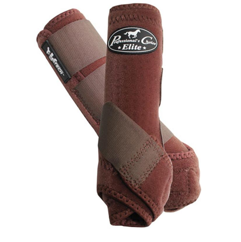 Professional Choice VenTECH Sports Medicine Boots - Front CHOCOLATE