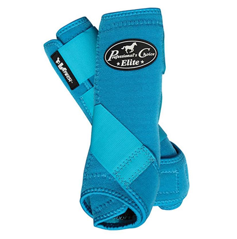Professional Choice VenTECH Sports Medicine Boots - Front TURQUOISE