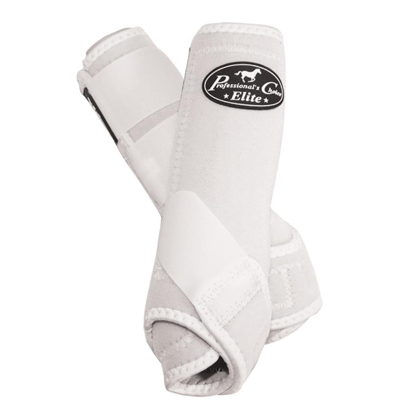Professional Choice VenTECH Sports Medicine Boots - Front WHITE
