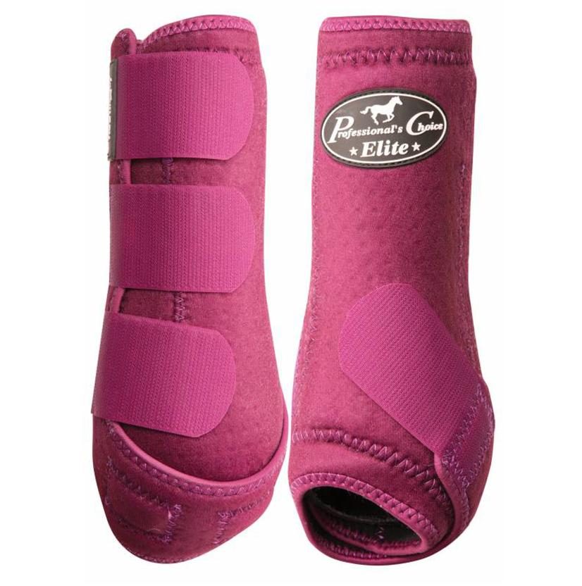 Professional Choice VenTECH Sports Medicine Boots - Front WINE